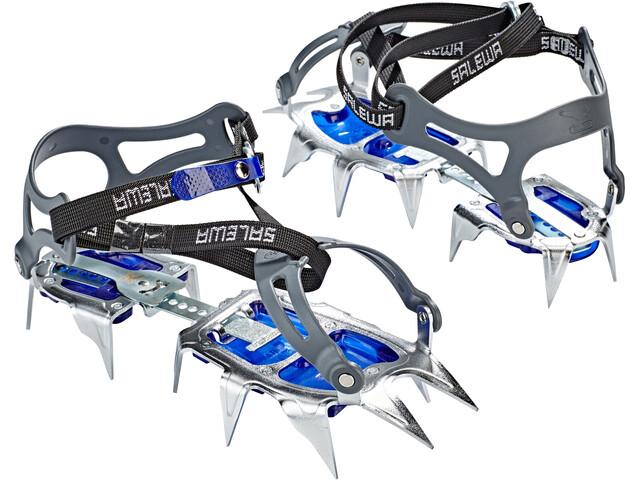 SALEWA Alpinist Walk Stijgijzers, steel/blue